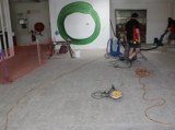 Resin flooring - project ready