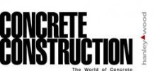 Concrete Construction logo.