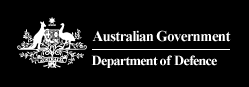 Australian Government Department of Defence logo.