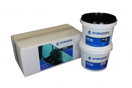 Scubapoxy 1715 Brushable Underwater-applied Coating.