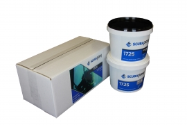 Scubapoxy 1725 Underwater-applied Coating and Adhesive.